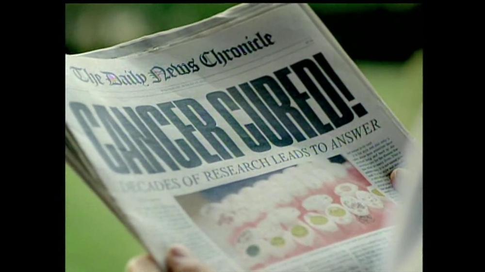 The Leukemia & Lymphoma Society TV Spot, 'Cancer Cured' - Screenshot 5