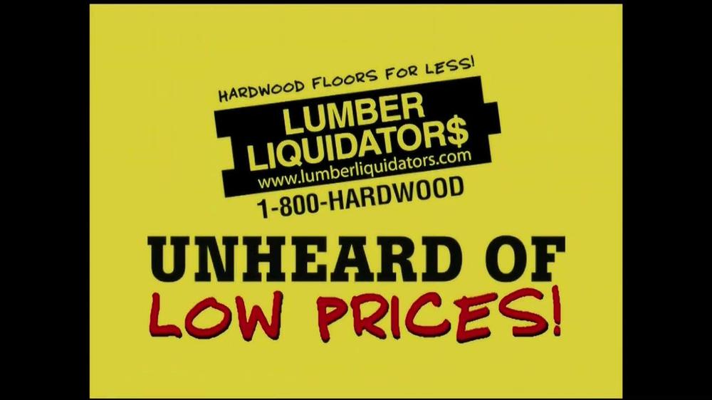 Lumber Liquidators 'Laminate Flooring Sale' TV Commercial ...