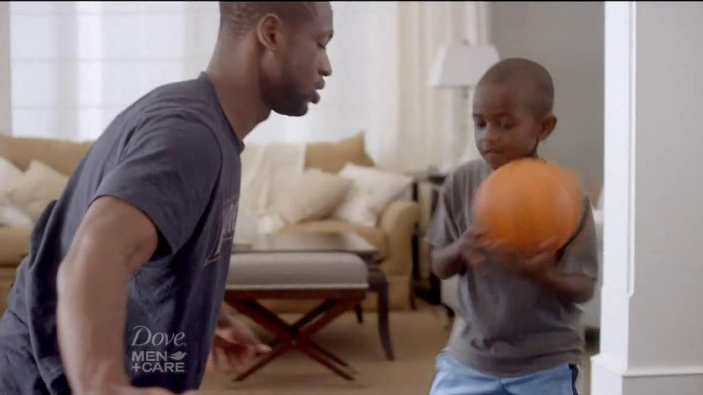 Dove Men+Care TV Spot, 'How to Play Defense' Featuring Dwyane Wade - Screenshot 4