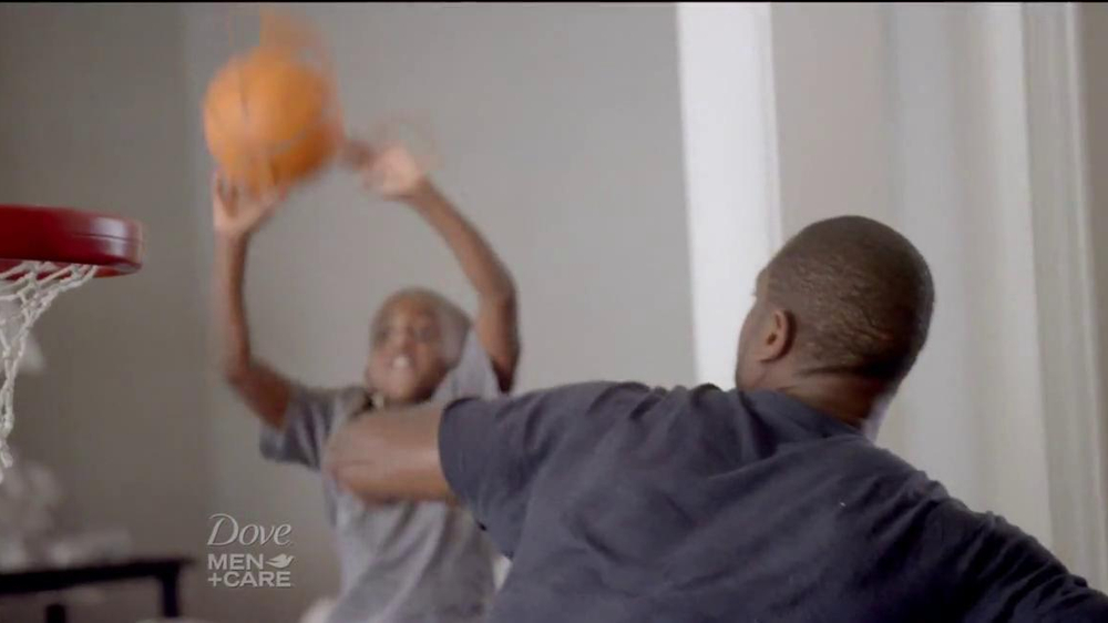 Dove Men+Care TV Spot, 'How to Play Defense' Featuring Dwyane Wade - Screenshot 6