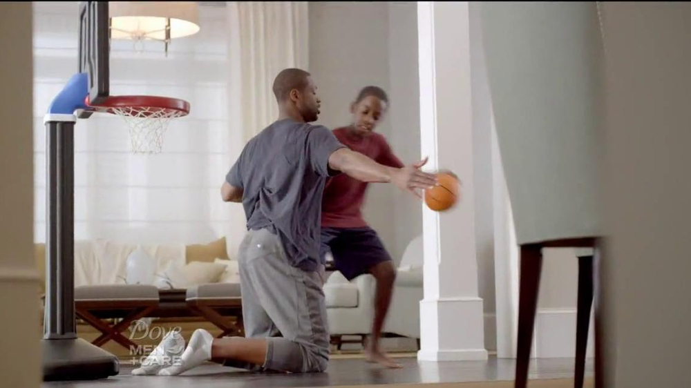 Dove Men+Care TV Spot, 'How to Play Defense' Featuring Dwyane Wade - Screenshot 7