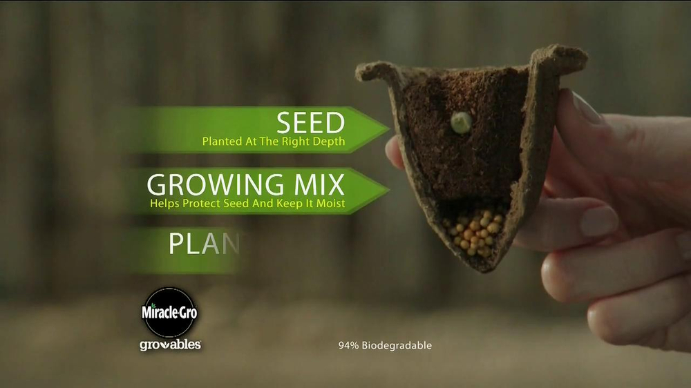 Miracle-Gro Gro-ables TV Spot  - Screenshot 4