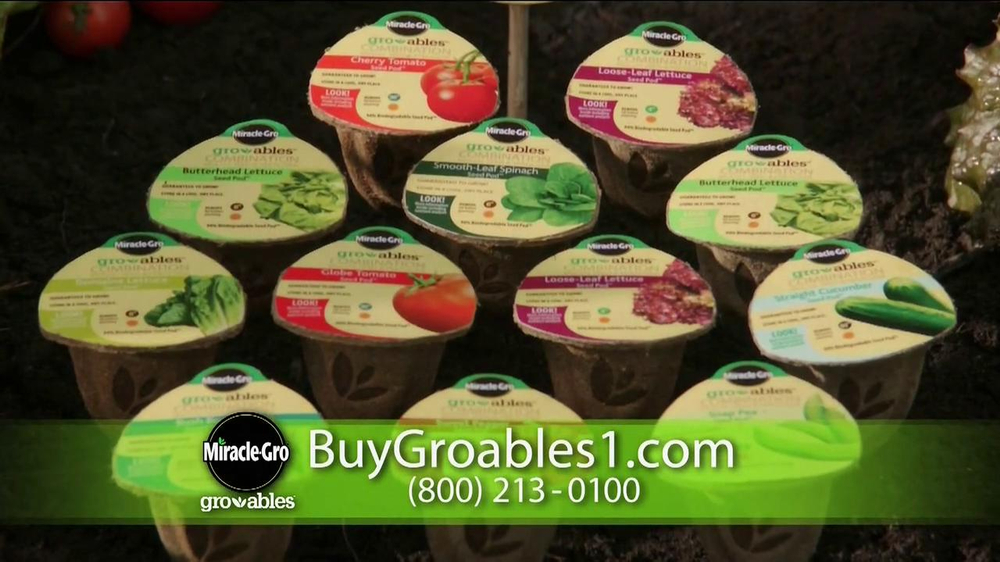 Miracle-Gro Gro-ables TV Spot  - Screenshot 6