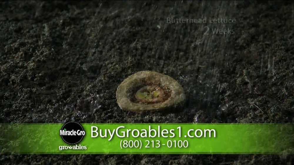 Miracle-Gro Gro-ables TV Spot  - Screenshot 8