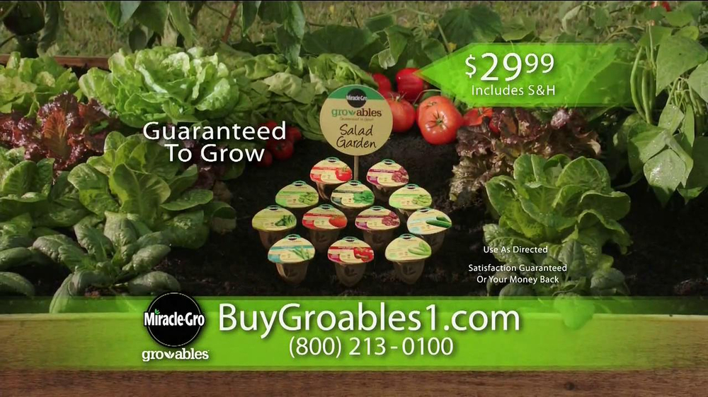 Miracle-Gro Gro-ables TV Spot  - Screenshot 9