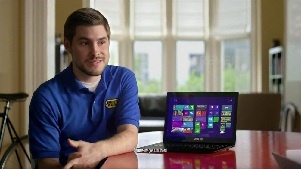 Best Buy Blue Shirt Beta Test TV Spot, 'Windows 8' - Screenshot 3