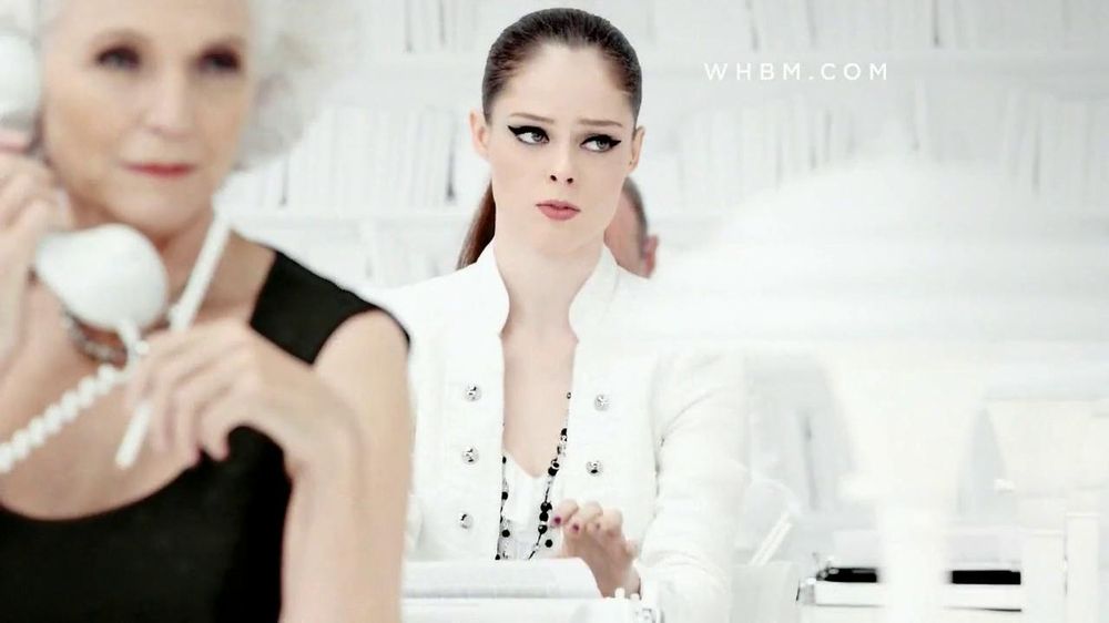 White House Black Market TV Spot Featuring Coco Rocha, Song by Miss Li - Screenshot 1