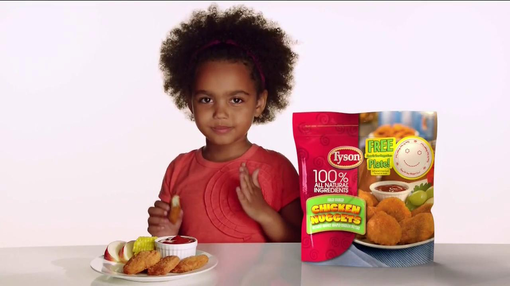Tyson Chicken Nuggets TV Commercial, 'Kids: Free Plate ...