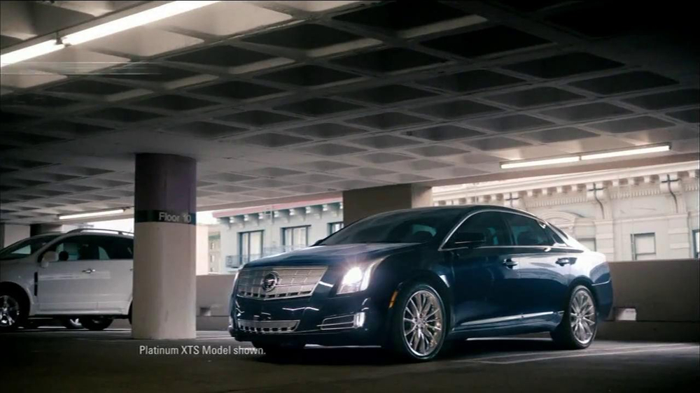2013 Cadillac XTS TV Spot, 'Look Again' Song by Victory - Screenshot 2