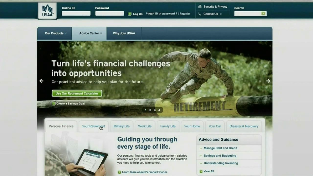 USAA Retirement Guide TV Spot, 'Advice' - Screenshot 2