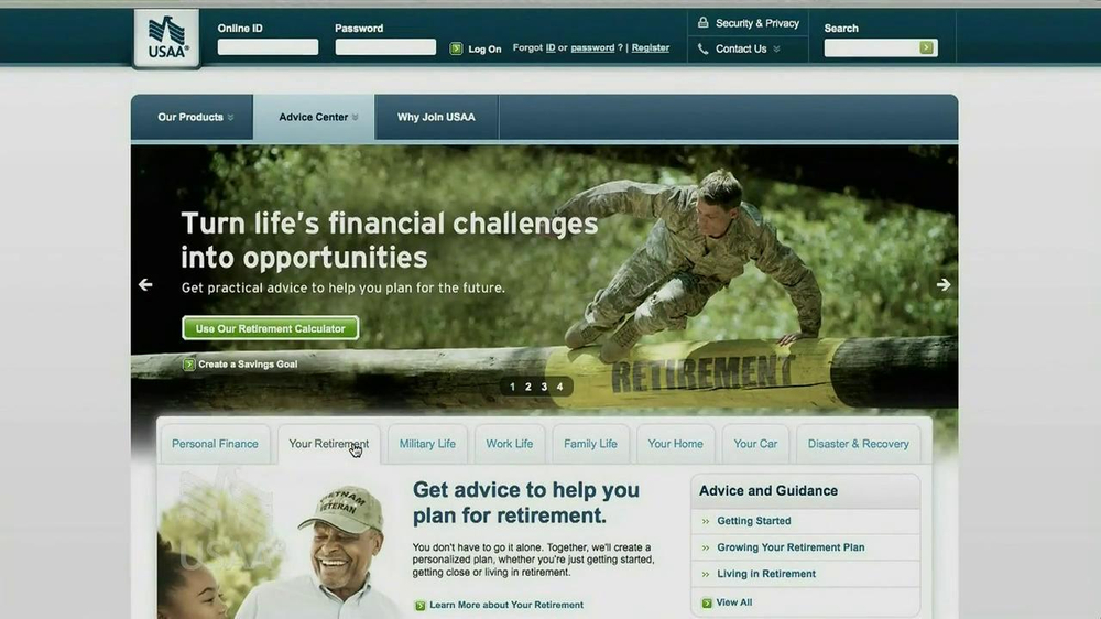 USAA Retirement Guide TV Spot, 'Advice' - Screenshot 3