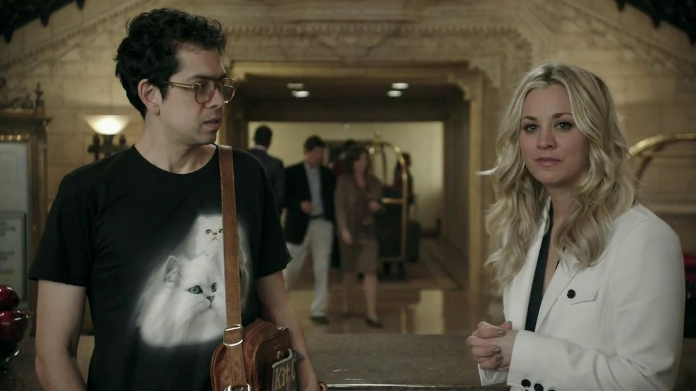 Priceline.com TV Spot, 'Cat Guy' Featuring Kaley Cuoco - Screenshot 9