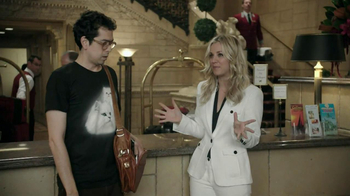 Priceline.com TV Spot, 'Cat Guy' Featuring Kaley Cuoco - Thumbnail 3