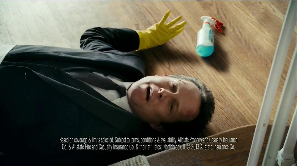 Allstate Home Insurance TV Spot, 'Mayhem: World's Worst Cleaning Lady' - Screenshot 8