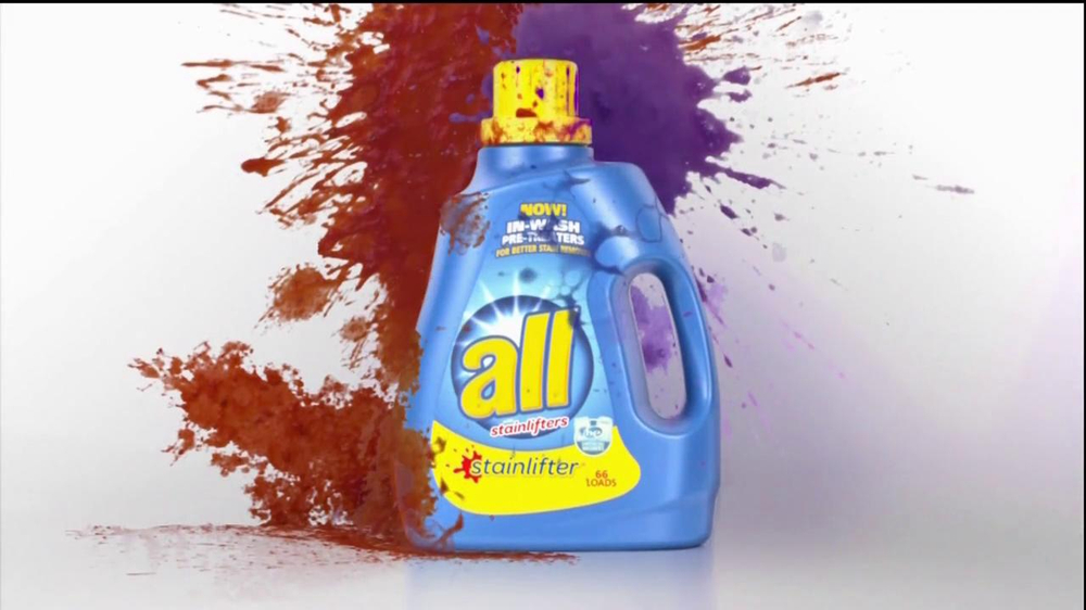 All Laundry Detergent Stainlifter In Wash Pre Treaters Tv