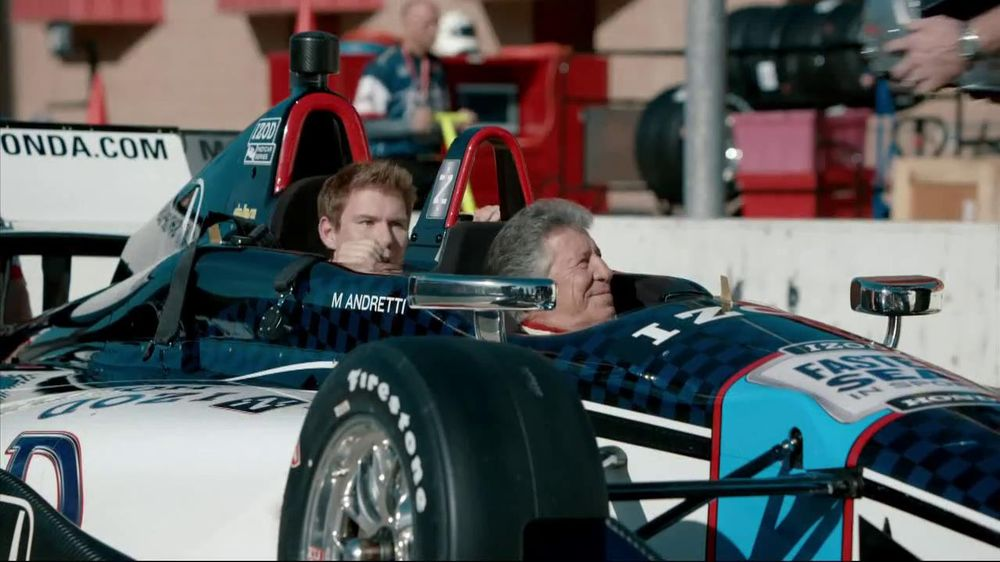Honda Fastest Seat in Sports Sweepstakes TV Spot Featuring Mario Andretti - Screenshot 1