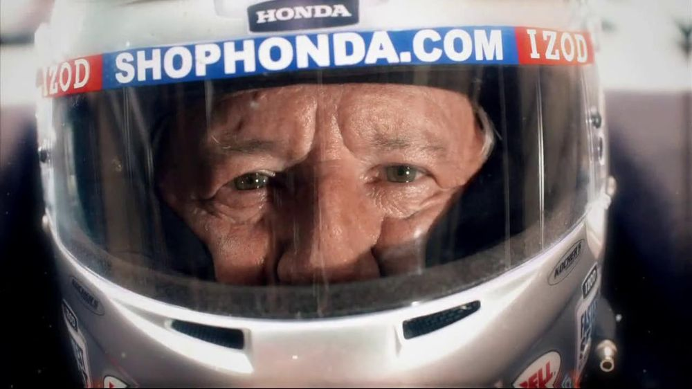 Honda Fastest Seat in Sports TV Spot, 'Two Seats' Featuring Mario Andretti - Screenshot 4