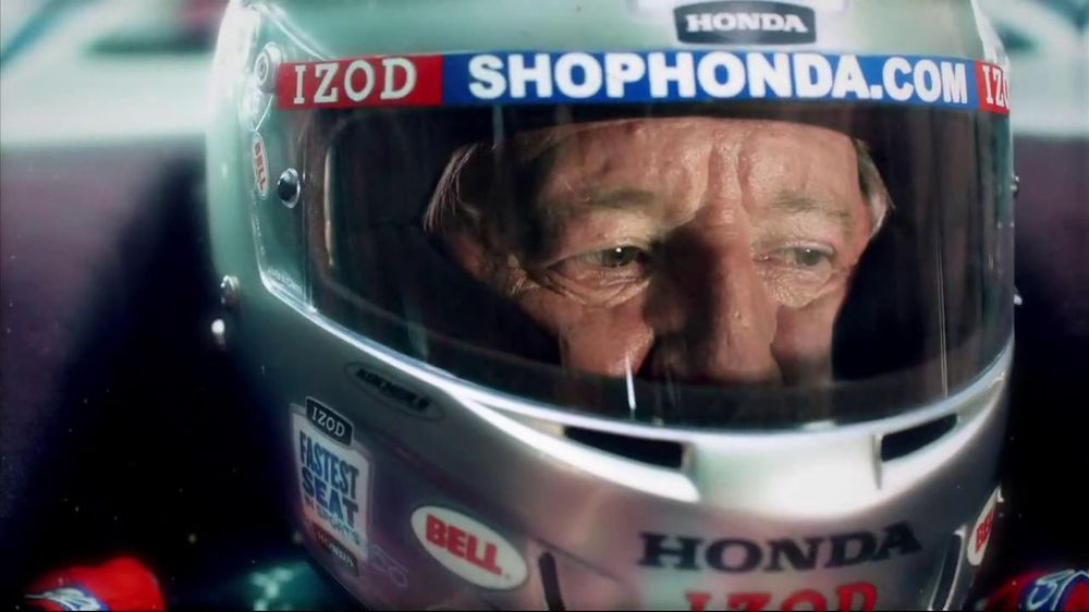 Honda Fastest Seat in Sports TV Spot, 'Two Seats' Featuring Mario Andretti - Screenshot 6