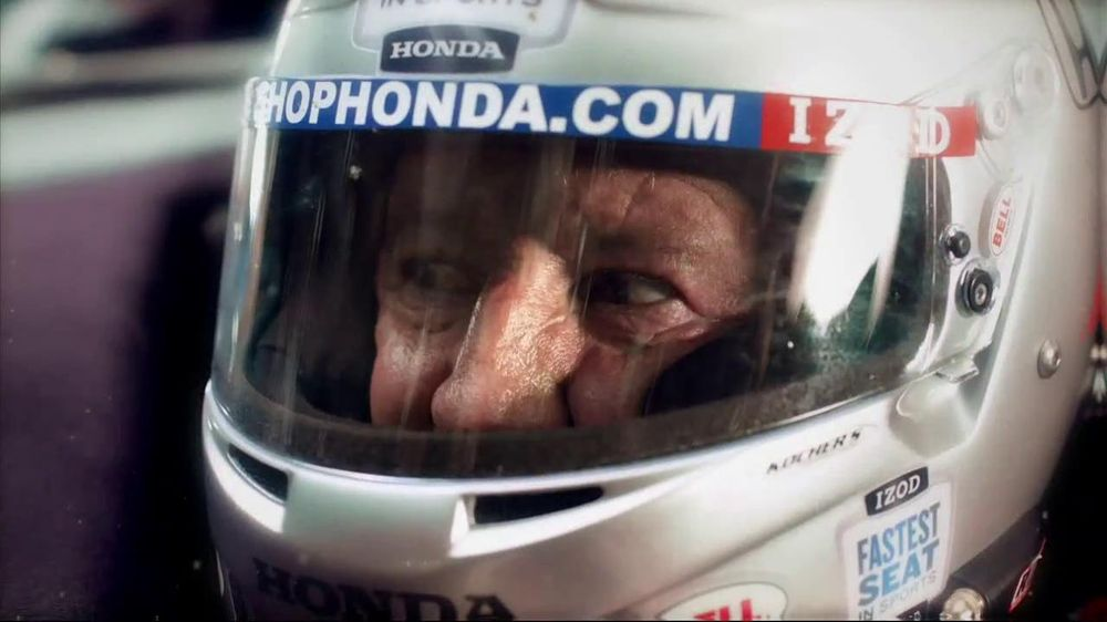 Honda Fastest Seat in Sports Sweepstakes TV Spot Featuring Mario Andretti - Screenshot 8