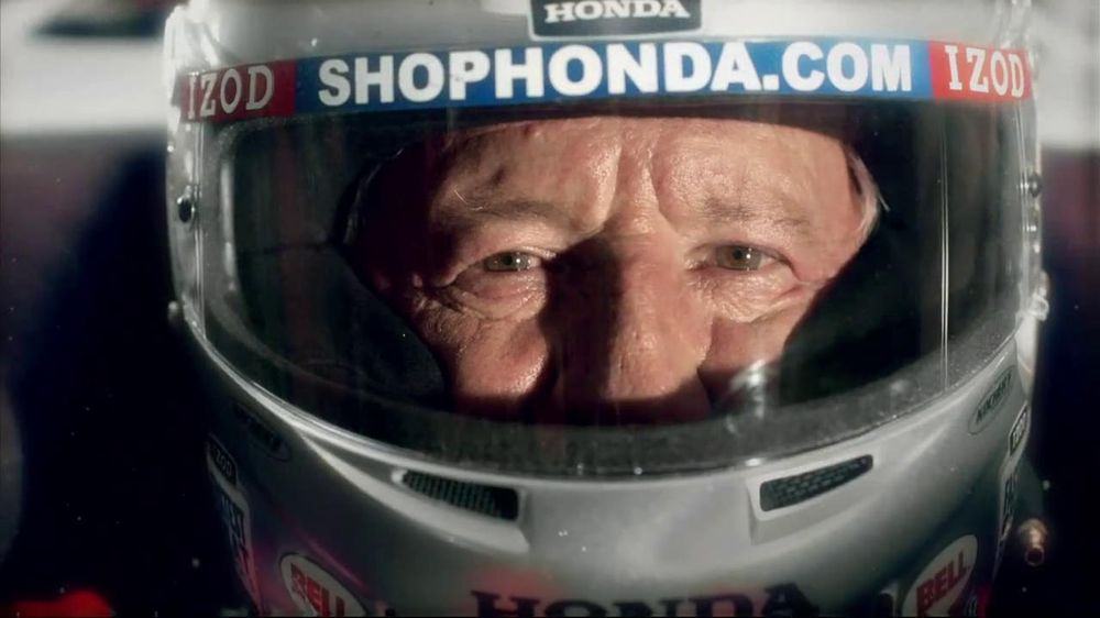 Honda Fastest Seat in Sports TV Spot, 'Two Seats' Featuring Mario Andretti - Screenshot 9