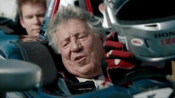 Honda Fastest Seat in Sports TV Spot, 'Two Seats' Featuring Mario Andretti - Thumbnail 2