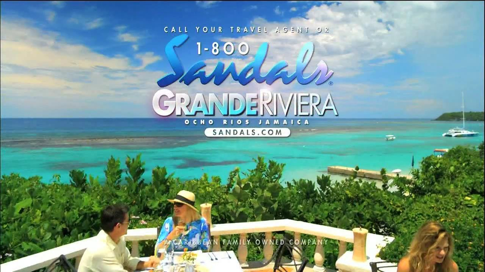 3d9a26d399167 Sandals Resorts Grande Rivera TV Commercial iSpot.tv ~ sandals resorts