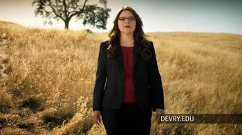 DeVry University TV Spot, 'Prepared for Tomorrow'