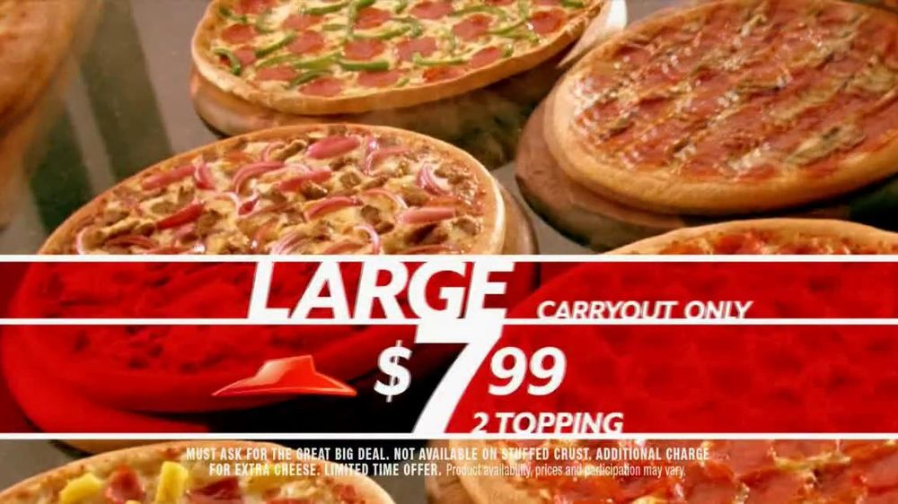 Pizza Hut Great Big Deal TV Spot, 'Carryout or Specialty' - Screenshot 4