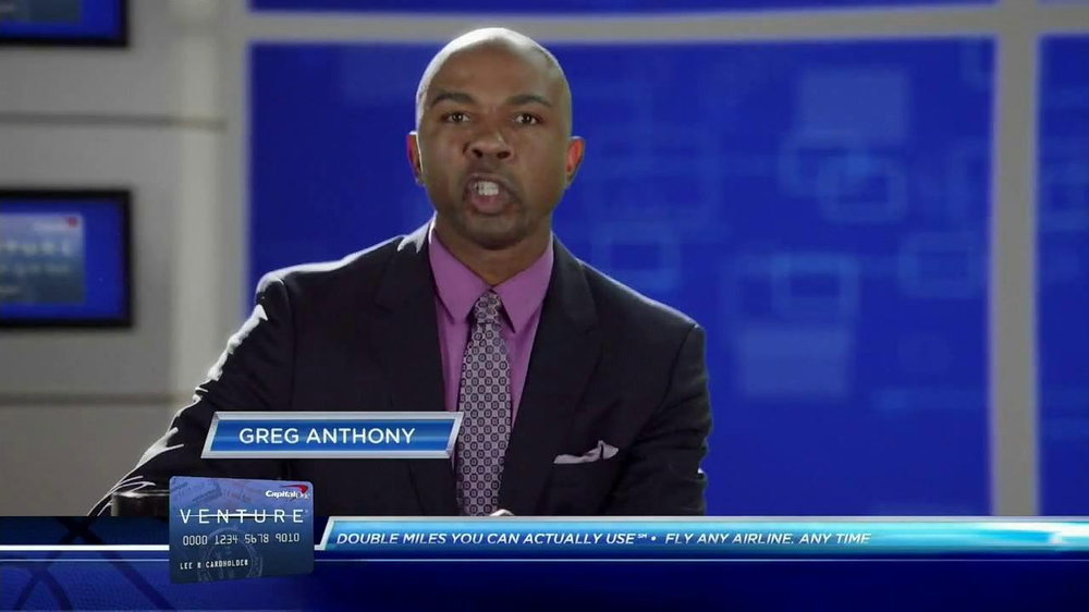 Capital One Venture TV Spot Featuring Alec Baldwin and Charles Barkley - Screenshot 1