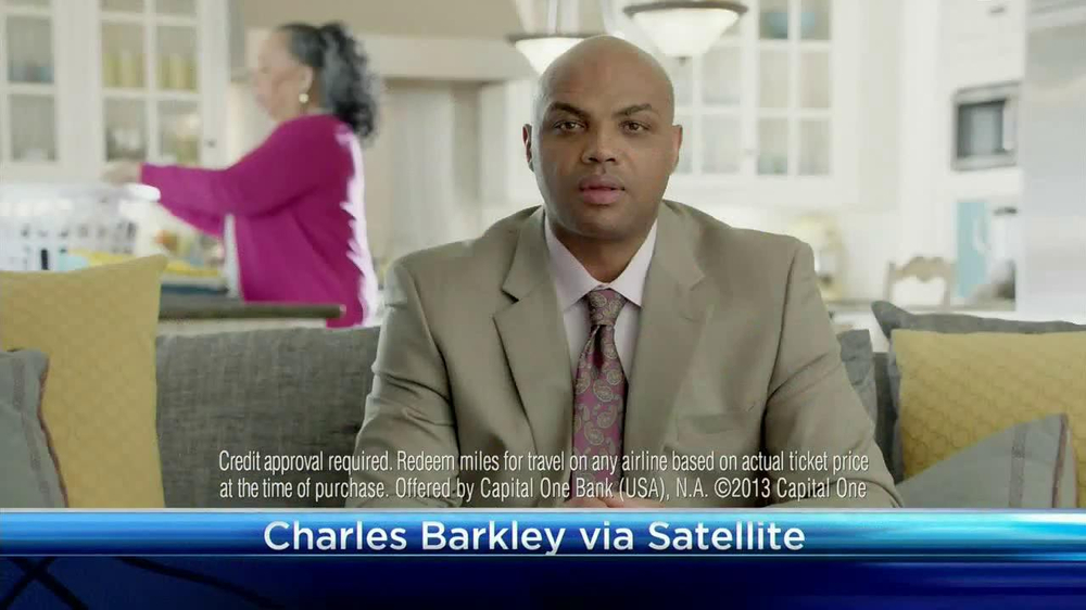 Capital One Venture TV Spot Featuring Alec Baldwin and Charles Barkley - Screenshot 4