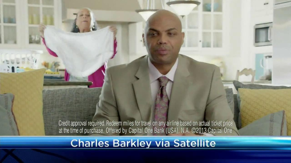 Capital One Venture TV Spot Featuring Alec Baldwin and Charles Barkley - Screenshot 5