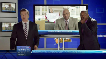 Capital One Venture TV Spot Featuring Alec Baldwin and Charles Barkley - Thumbnail 7