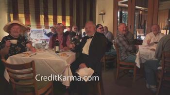 Credit Karma TV Spot, 'Restaurant Bill'