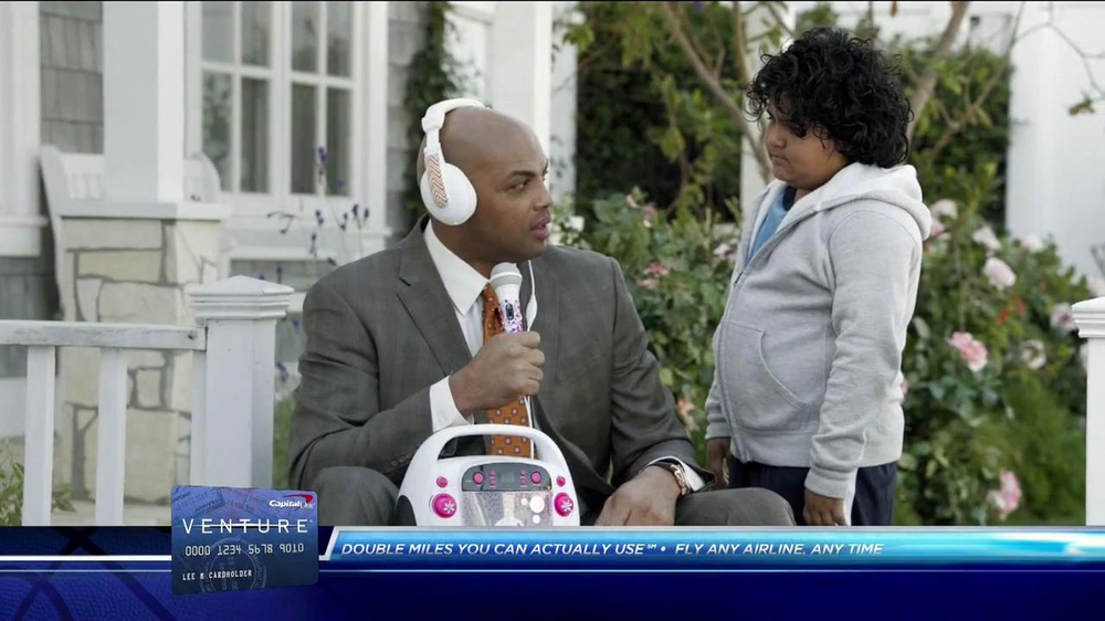 Capital One TV Spot, 'Fourth-Graders' Feat. Alec Baldwin, Charles Barkley - Screenshot 8