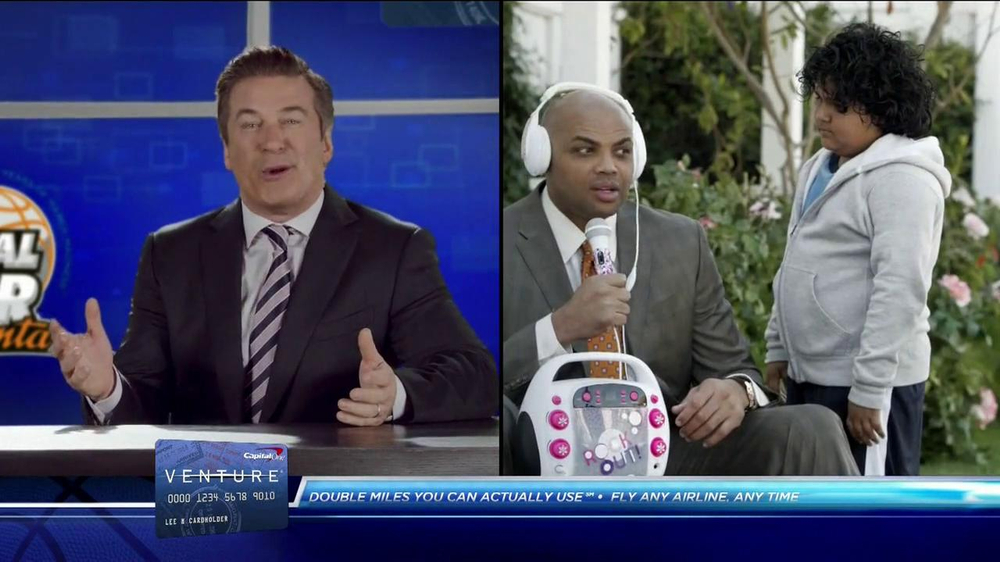 Capital One TV Spot, 'Fourth-Graders' Feat. Alec Baldwin, Charles Barkley - Screenshot 9