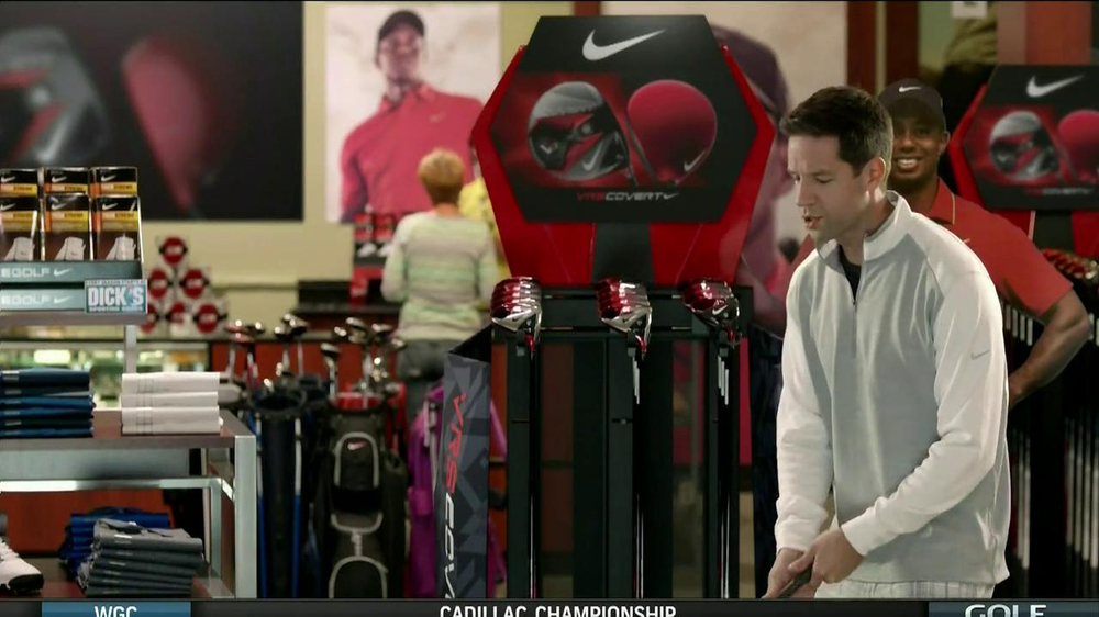 Dick's Sporting Goods TV Spot, 'Nike VRS Covert' Featuring Tiger Woods - Screenshot 5
