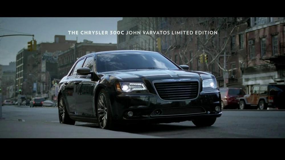 2013 chrysler 300c john varvatos tv commercial 39 perfect details 39. Black Bedroom Furniture Sets. Home Design Ideas