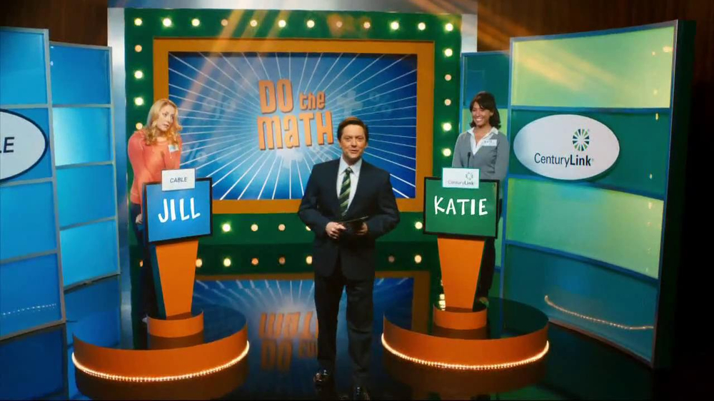 CenturyLink TV Spot, 'Do the Math Game Show' - Screenshot 1