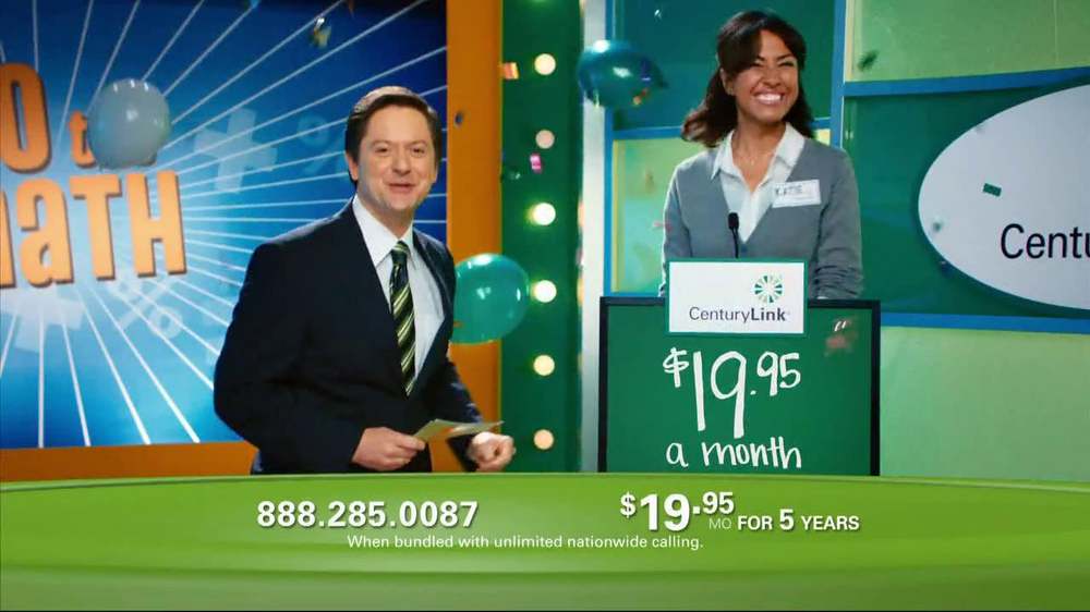 CenturyLink TV Spot, 'Do the Math Game Show' - Screenshot 7