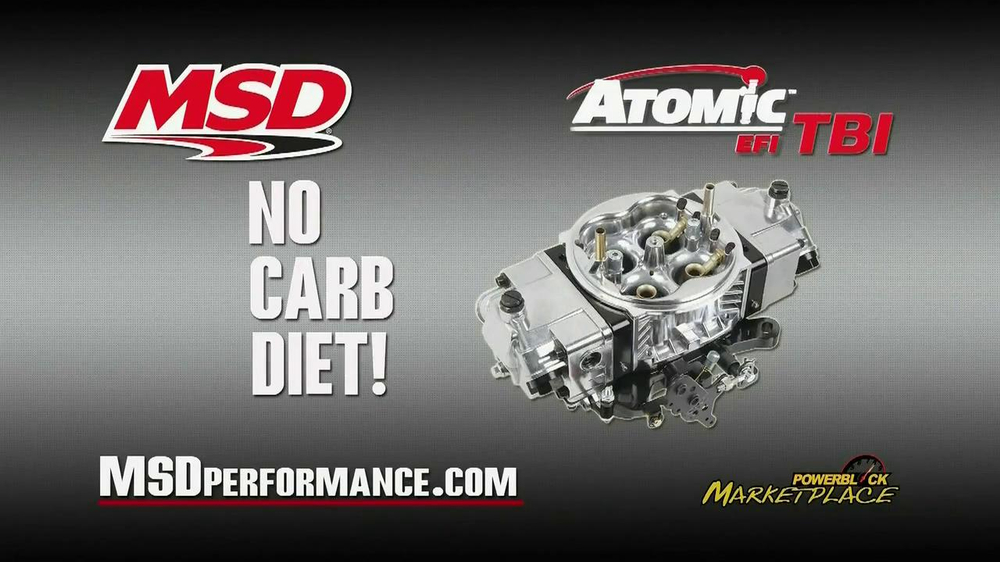 MSD Performance Atomic EFI TBI TV Spot - Screenshot 1