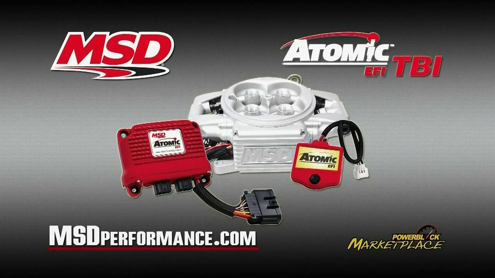 MSD Performance Atomic EFI TBI TV Spot - Screenshot 8