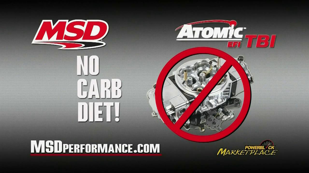 MSD Performance Atomic EFI TBI TV Spot - Screenshot 2