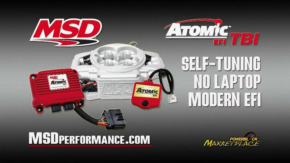 MSD Performance Atomic EFI TBI TV Spot - Screenshot 4