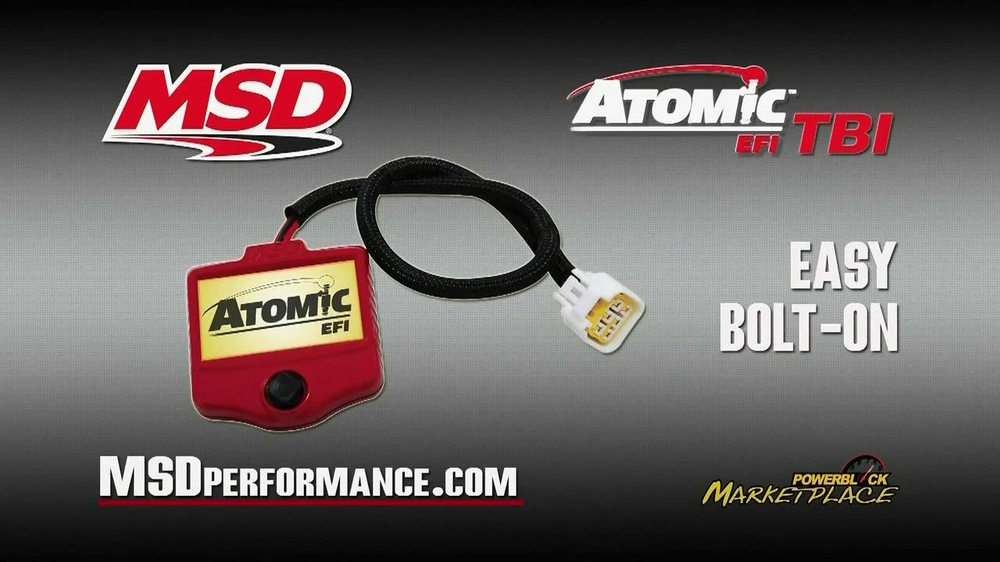 MSD Performance Atomic EFI TBI TV Spot - Screenshot 6