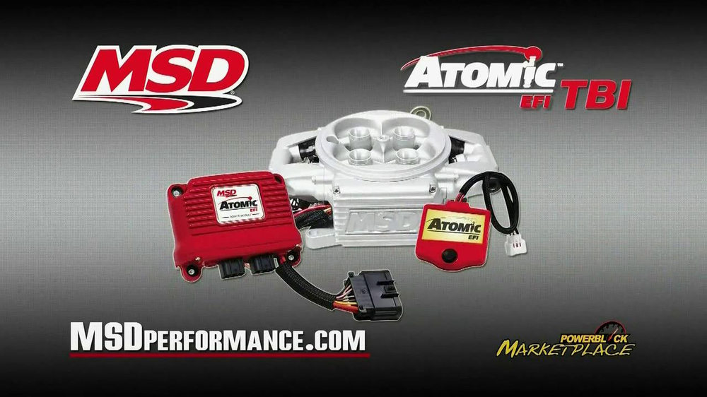 MSD Performance Atomic EFI TBI TV Spot - Screenshot 7