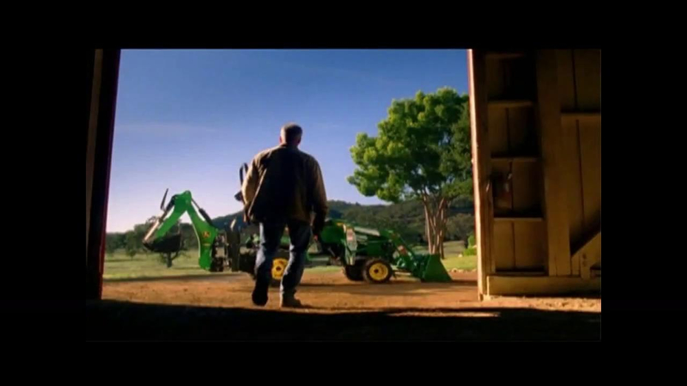 John Deere Sub-Compact Tractor TV Spot, 'Get a Load of This' - Screenshot 1