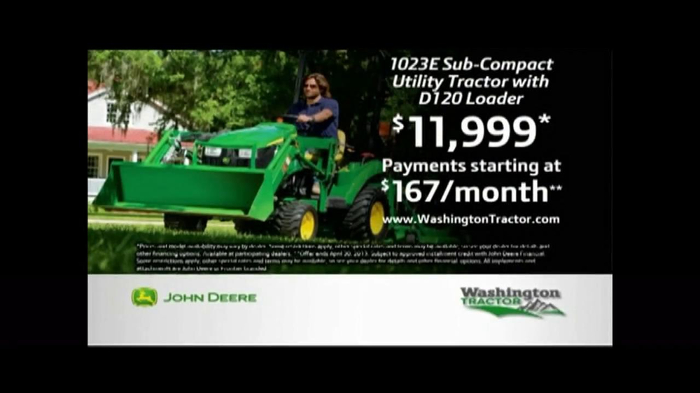 John Deere Sub-Compact Tractor TV Spot, 'Get a Load of This' - Screenshot 10