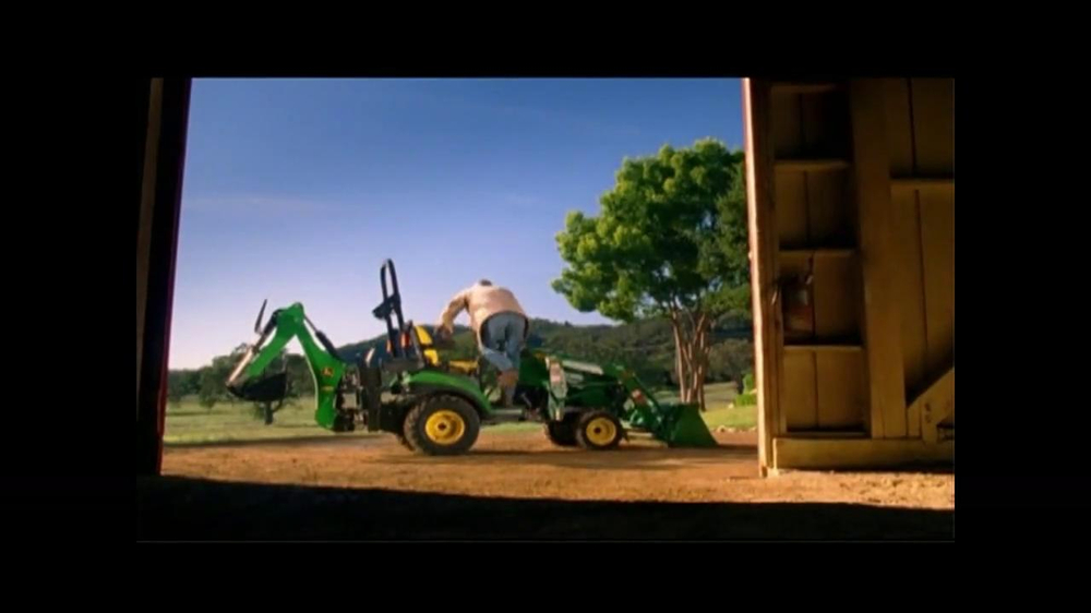 John Deere Sub-Compact Tractor TV Spot, 'Get a Load of This' - Screenshot 2