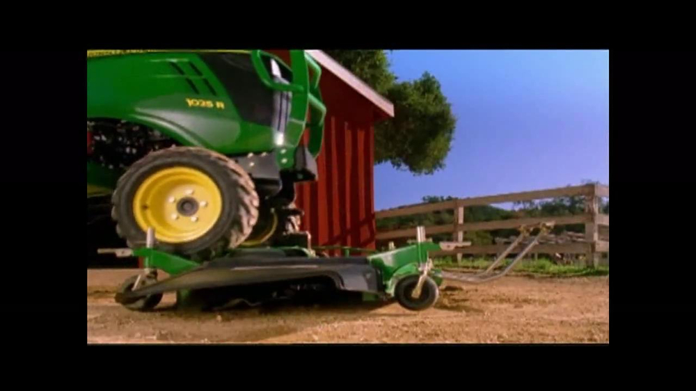 John Deere Sub-Compact Tractor TV Spot, 'Get a Load of This' - Screenshot 4