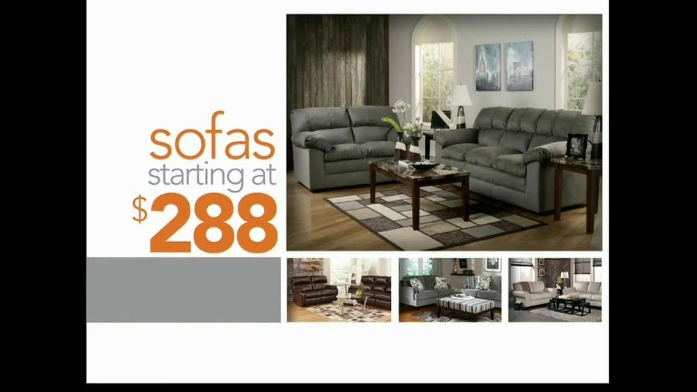 Ashley Furniture Homestore Lowest Prices of the Season TV